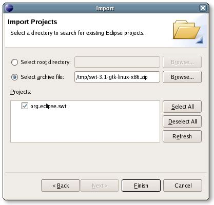 Developing SWT applications using Eclipse   The Eclipse