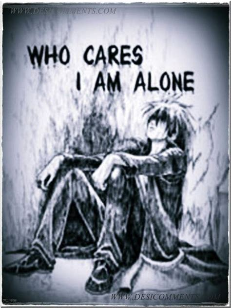 Who cares I am alone - DesiComments