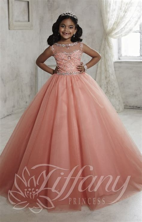 Tiffany Princess 13455 - Tooth Fairy Gown Prom Dress