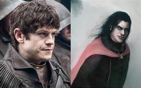 How the Game of Thrones Characters Look on TV vs the Books