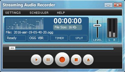 Streaming Audio Recorder - Capture Streaming Audio from