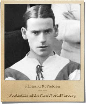 Richard McFadden | Service Record | Football and the First