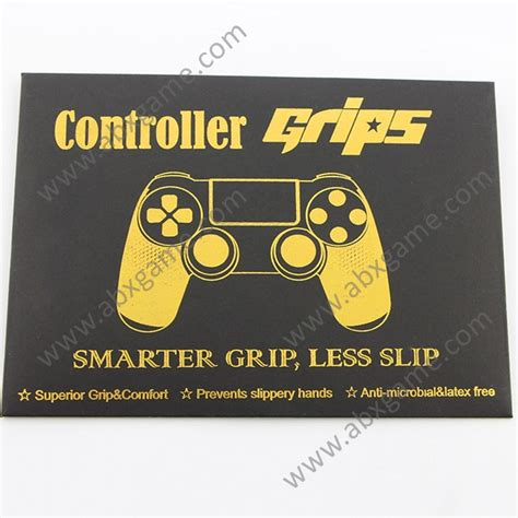 Controller Grip Sticker Set for PS4 DS4 Controller - ABXGame