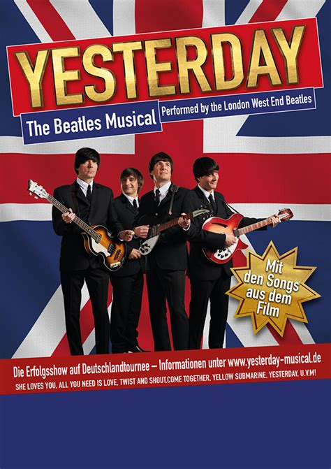 Yesterday - the Beatles Musical performed by the London