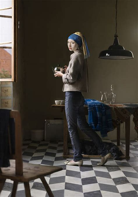 Girl with the Pearl Earring   JPEGY - What the Internet