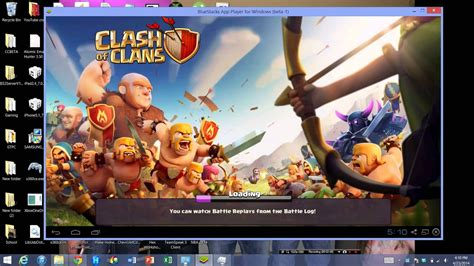 How to Download + Install Clash of Clans on PC FREE 2017