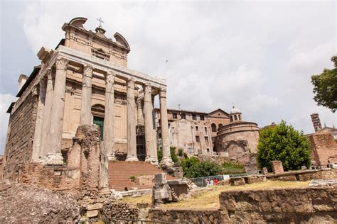 Temple of Antoninus and Faustina - Colosseum Rome Tickets