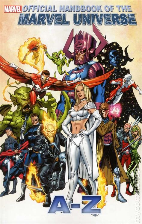 Official Handbook of the Marvel Universe A-Z TPB (2011