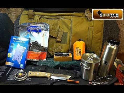 72 Hour Bug Out Bag Battlbox Mission 34 Field Test - YouTube