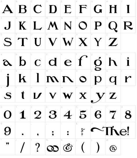 Oz's Wizard Font Download