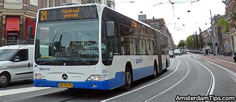 Amsterdam Bus Services | GVB | EBS R-Net Waterland Buses