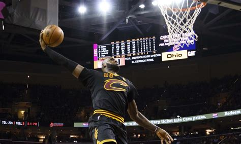 LeBron James Says He Could've Been In The Dunk Contest