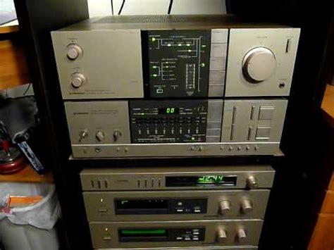 Pioneer Stereo System in Computer Room - YouTube
