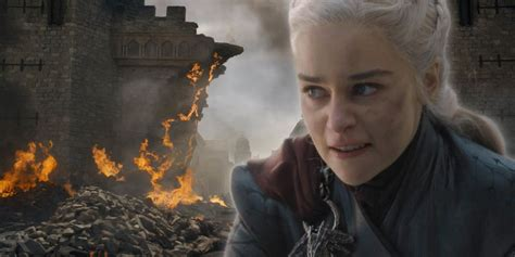 Game of Thrones: The Real Reason Daenerys Burned Down King
