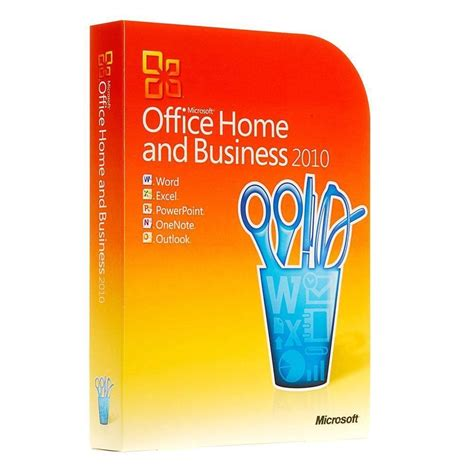 Buy Microsoft Office 2010 Home & Business Full Version