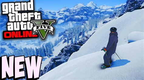 GTA 5 Gets Snowy in New Holiday Themed Event - Neurogadget