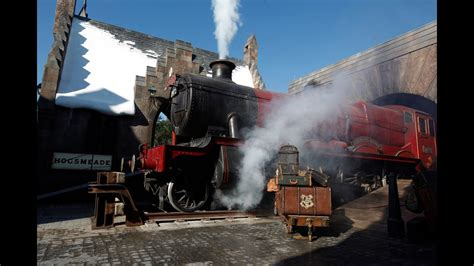 HOGWARTS EXPRESS Train Conductor making rounds - Wizarding