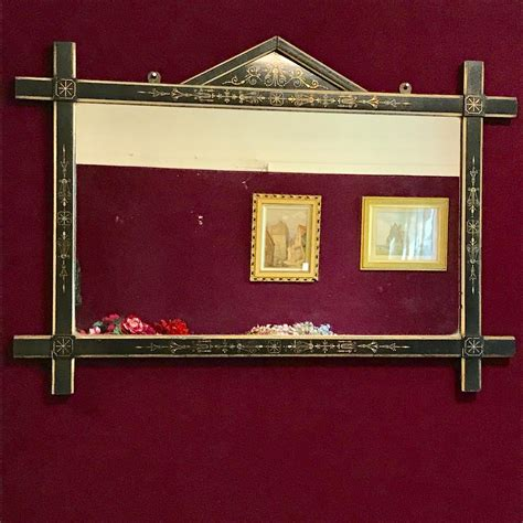 Aesthetic Movement late 19th Century Wall Mirror - Antique