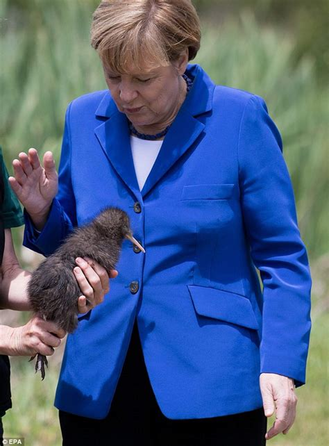 You want me to do what?! German Chancellor Angela Merkel