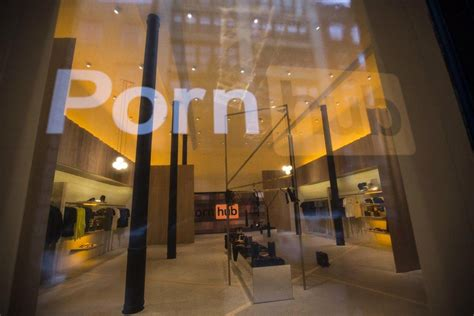 Pornhub's latest shameless stunt is a pop-up smut shop