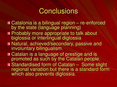 PPT - BILINGUALISM AND DIGLOSSIA IN SPAIN PowerPoint