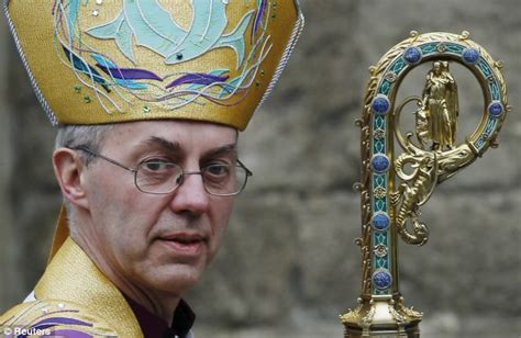 Archbishop of Canterbury Justin Welby told he was