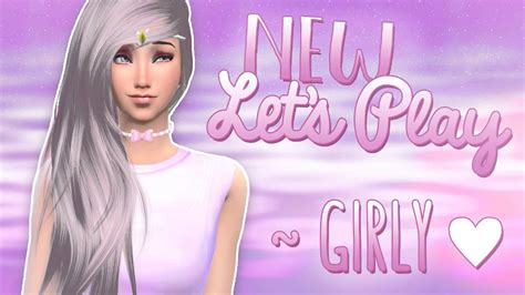The Sims 4 | New Girly LP ♥ - YouTube
