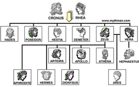 What is the family tree of the goddess Athena? - Quora