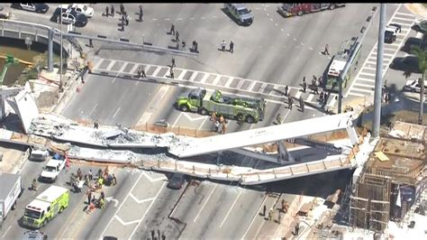 6 Confirmed Dead in Bridge Collapse at Florida