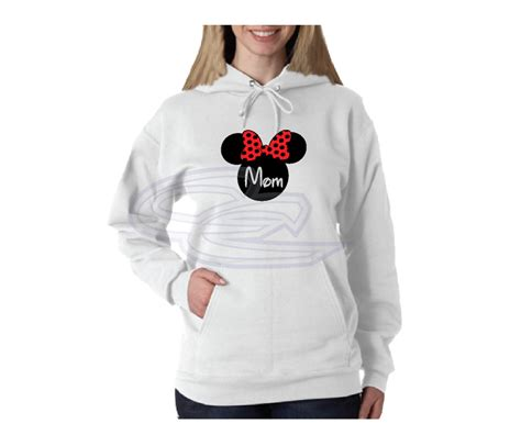 Mom Shirt Disney Minnie Mouse Cute Red Bow | Married with