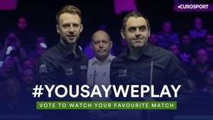Eurosport and Quest cue up LIVE Home Nations snooker as