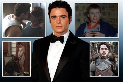 Actor Richard Madden was 'fat and shy' at school, but now