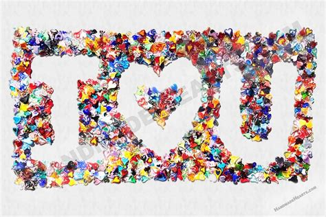 Heart Collage Art Gallery Main Page - Handmade Hearts