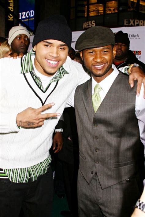 Newsflash! Chris Brown & Usher are NOT the Best of Friends