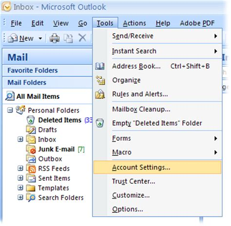 Configure Hotmail, Live and MSN e-mail accounts to use